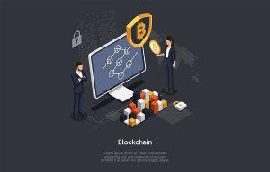 Concept of a blockchain development company in Sydney